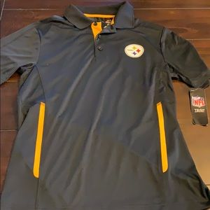 Pittsburgh Steelers nfl majestic cool base polo